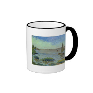Windy Day on the Elbe, 1911 Ringer Mug