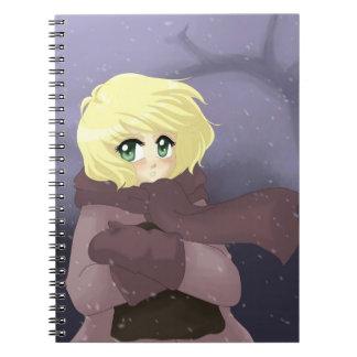 Windy day spiral notebooks