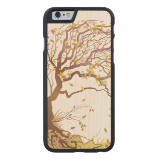 Windy Forest Carved® Maple iPhone 6 Slim Case
