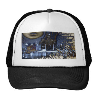 WINDY IN THE CITY MESH HAT