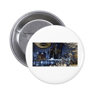 WINDY IN THE CITY PINBACK BUTTON
