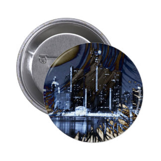 WINDY IN THE CITY PINBACK BUTTONS