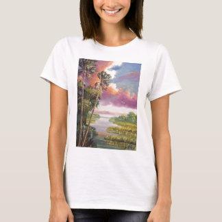 Windy Palm Trees Backwoods T-Shirt