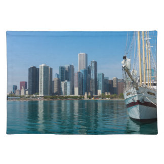 Windy Sailing Cloth Placemat