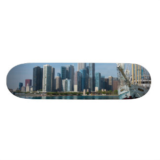 Windy Sailing Skateboard Deck