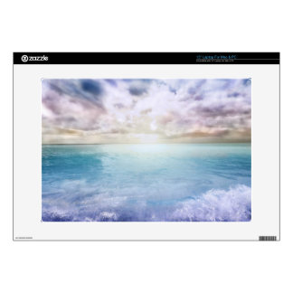 Windy Sunset at the Beach Skin For Laptop
