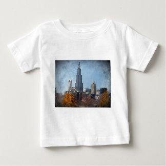 Windy town center Autumn Baby T-Shirt