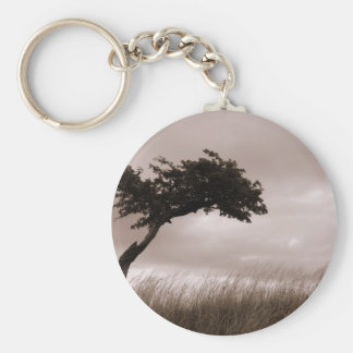 Windy Tree Keychain