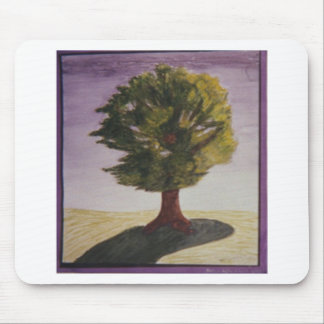 Windy Tree Mouse Pad