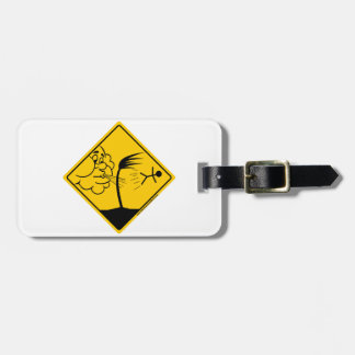 Windy Weather Warning Merchandise and Clothing Bag Tag
