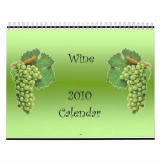 Wine 2010 Calendar