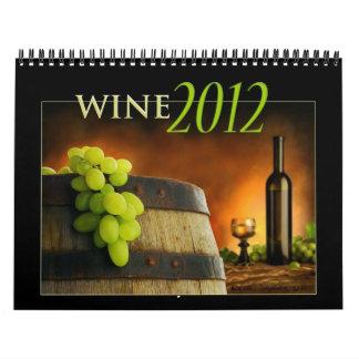 Wine 2012 Calendar