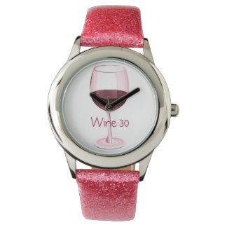 """""""Wine 30"""" Wristwatch"""