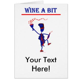 Wine A Bit Gift & T Shirts Card