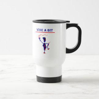 Wine A Bit Gift & T Shirts Travel Mug