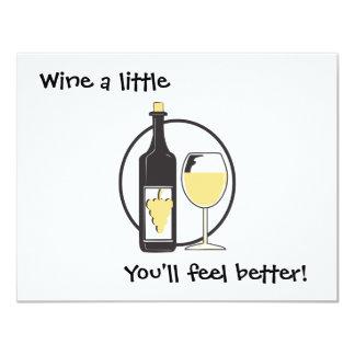Wine a little card