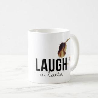 Wine a little Laugh a latte Coffee Mug