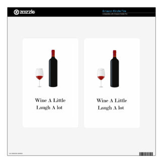 Wine A Little Skin For Kindle Fire
