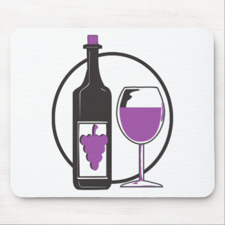 Wine a Little, You'll feel better! Mouse Pad