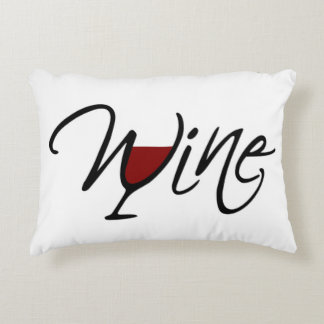 WINE ACCENT PILLOW