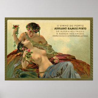Wine Ad 1912 Poster