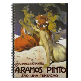 Wine Ad 1915 Notebook