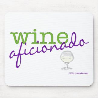 Wine Aficionado Mouse Pad
