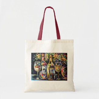 WINE AFTERNOON BUDGET TOTE BAG