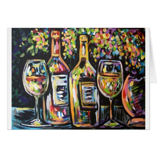 WINE AFTERNOON CARD
