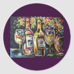 WINE AFTERNOON STICKERS