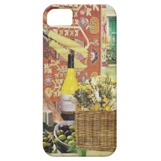 Wine and Baguette iPhone SE/5/5s Case