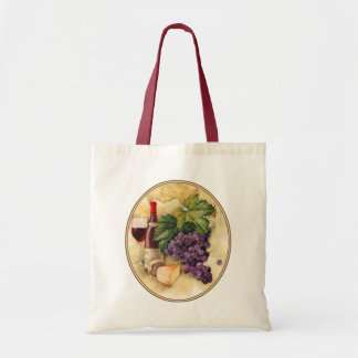 Wine and Cheese Tote Bags