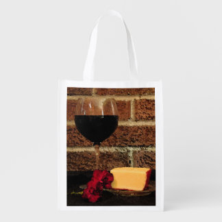 Wine and Cheese Market Totes
