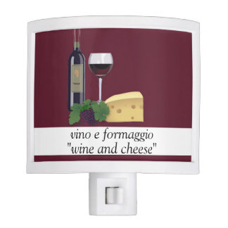 Wine and Cheese Night Light