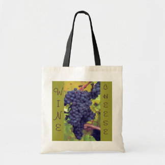Wine and Cheese Picnic Canvas Bags