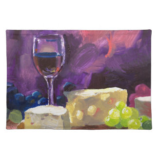 Wine and Cheese Placemat