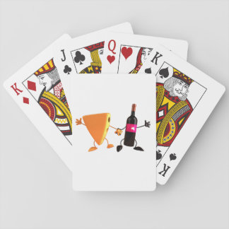 Wine And Cheese Playing Cards