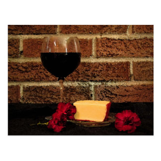 Wine and Cheese Post Cards