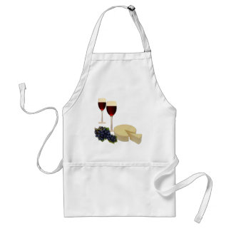 Wine and Cheese Series Adult Apron