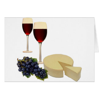 Wine and Cheese Series Card