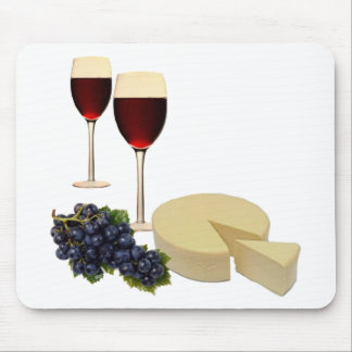 Wine and Cheese Series Mouse Pad