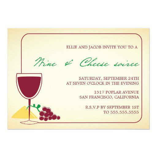 Wine And Cheese Party Invitations is one of our best ideas you might choose for invitation design