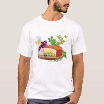Wine and Cheese T-Shirt