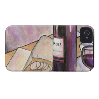 Wine and Cheese Tonight iPhone 4 Case-Mate Case