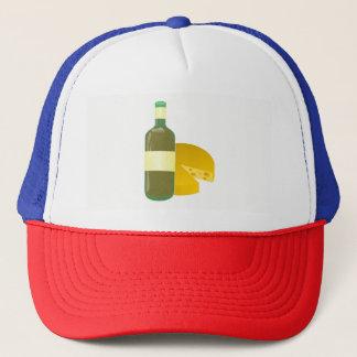 Wine and Cheese Trucker Hat