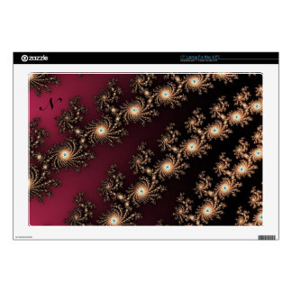 Wine and Chocolate Fractal Skins Skins For Laptops
