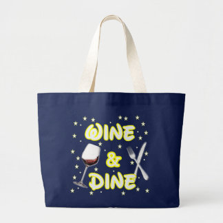Wine and Dine Around The World Tote Bag