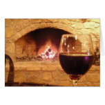Wine and fire card