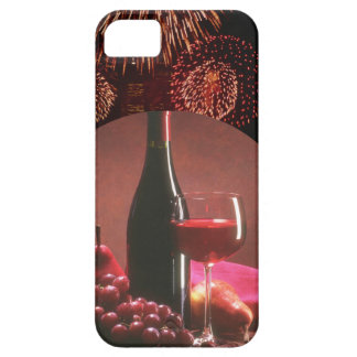 Wine and Fireworks iPhone 5 Case