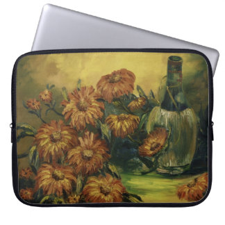 Wine and Flowers Laptop Sleeve